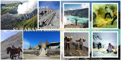 Surabaya Mount Bromo Ijen Semeru Trekking Tour Package Price