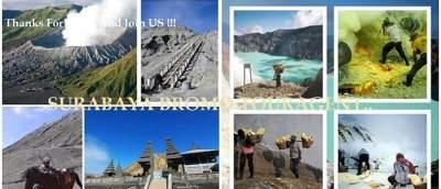 Surabaya Bromo Tour Package Ijen Crater Banyuwangi Bali