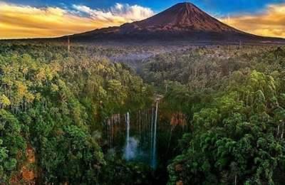 Mount Bromo Tumpak Sewu Waterfall