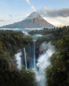 Bromo Ijen Tumpak Sewu Waterfall Tour Package 4 Days 3 Nights