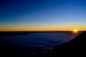 Sunrise From Mount Semeru