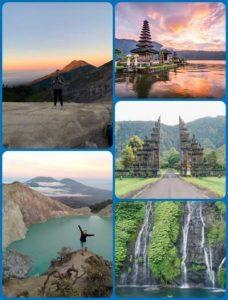 Java Bali Land Tour 7D6N Itinerary