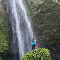 Kapas Biru Waterfall