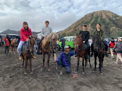 The Natural Beauty of Mount Bromo