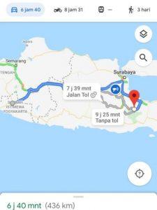 Yogyakarta to Mount Bromo Cemara Lawang